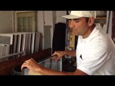 How to fix glass in a vinyl replacement window How to repair glass 860-986-7277 CT - YouTube