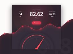 Hey there,  Today I designed a speedometer. I enjoyed it pretty much it was great to play with the colors and gradients.  See you tomorrow!  Bence  You can follow me on: Twitter | Instagram