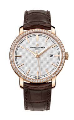Discover the Traditionnelle self-winding watch,reference piece of fine watchmaking by Vacheron Constantin. Diamond Watches For Men, Luxury Watches For Men, Elegant Watches, Beautiful Watches, Stylish Watches, Casual Watches, Vacheron Constantin, Seiko Watches, Quartz Watch