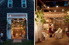 cool maine barn wedding
