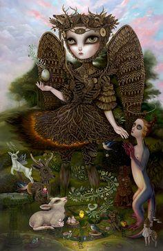 artisafeeling: Charming the Wilds -Jennybird Alcantara http://www.jennybirdart.com/index.html