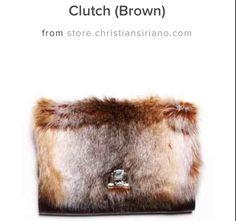 Faux Fur Clutch