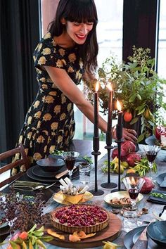 Athena Calderone's Holiday Tablescape Puts All Others To Shame #refinery29  http://www.refinery29.com/eye-swoon/21#slide-9