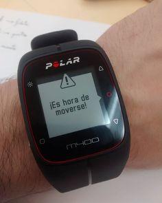 En #Instagram: Cuando mi #polar dice que deje de estudiar y vaya a comer me levanto y hago lo propio http://ift.tt/23DH4Yy