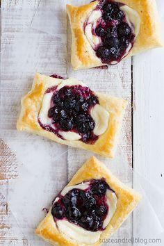 Easy Blueberry Cream Cheese Pastries