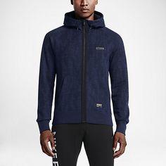 Męska bluza z kapturem Nike F.C. AW77 Full-Zip
