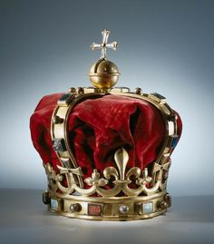 Crown for the King of Ardra, 1664, unknown artist. www.rijksmuseum.nl