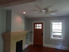 Parlor now a lovely Sterling Silver (Behr Marquee ) Living Room, Room Paint Colors, Behr, Cottage, Home, Bedroom Makeover, Remodel, Paint Colors, Room Paint