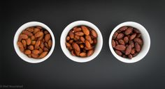 Tamari spiced almonds, Indian spiced almonds and sweet spiced almonds are so easy to make and a delicious snack or mixed through a salad.