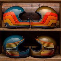 66 Ideas cool motorcycle helmets retro for 2019 66 Ideen coole Motorradhelme retro für 2019 Retro Motorcycle Helmets, Retro Helmet, Vintage Helmet, Futuristic Motorcycle, Motorcycle Paint, Motos Vintage, Custom Helmets, Custom Moped, Cb 500