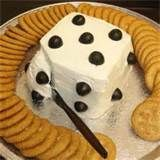 "Image detail for -night party food.  I like ""dice"" cheese and crackers for bunco ..."
