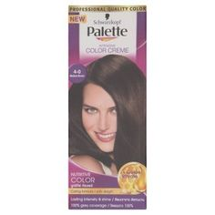 Schwarzkopf Palette Intensive Hair Colour Cream With Liquid Keratin - 4-0 Medium Brown 100 ML * Find out more about the great product at the image link.