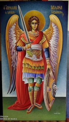 Orthodox Catholic, Catholic Art, Religious Icons, Religious Art, All Archangels, Angel Protector, Faith Of Our Fathers, Saints And Sinners, Saint Michael