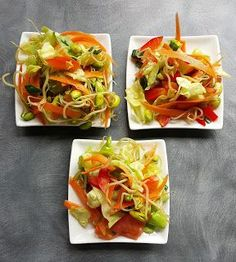 Vaříme bez tuku: Salát z naklíčené sóji