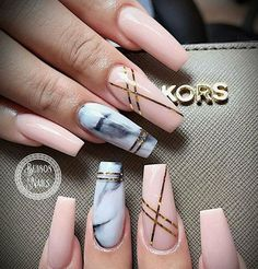 # Acrylic nails # Gel saw # Conical # Marble nails # Naked – acrylicnails Marble Acrylic Nails, Best Acrylic Nails, Acrylic Gel, Marble Nail Designs, Acrylic Nail Designs, Square Nail Designs, Nude Nails, Pink Nails, Coffin Nails