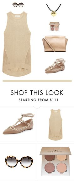 """""""Keeping it simple"""" by jane-doe-1977 ❤ liked on Polyvore featuring Valentino, MICHAEL Michael Kors, Prada and Anastasia Beverly Hills"""