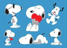 Snoopy desenhos expressivos