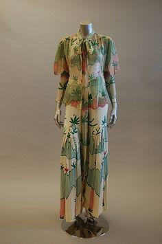 Ossie Clark w Celia Birtwell print ensemble Vintage Closet 9fe8a93ad