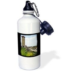 3dRose Observation Tower at the Antietam National Battlefield, Sharpsburg, Sports Water Bottle, 21oz