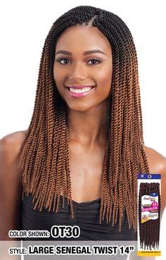 JAMAICAN JUMBO TWIST | Crochet braids freetress, Jumbo