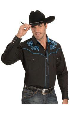 Ely Vine Stitch Embroidery Western Shirt - Sheplers  www.sheplers.com