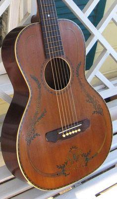Los años 1920 Stromberg Voisinet Guitarra de Salón
