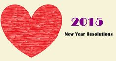 New Year resolutions 2015 lifestyle