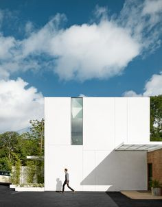 Baldridge Architects Office is a minimalist house located in Austin, Texas, designed by Baldridge Architects. This project is a small urban infill renovation located in Clarksville, the only mixed use neighborhood in Old West Austin, Texas. (1)