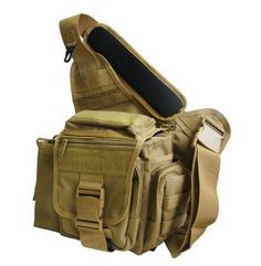 66361223e16b UTG Leapers Multi-Functional Tactical Messenger Bag Dark Earth Tan Tactical  Bag