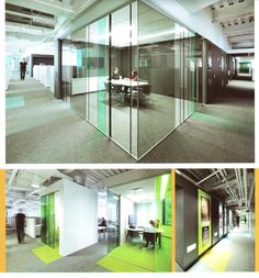 glass partitions with tinted film #vidrio #glass #vidro