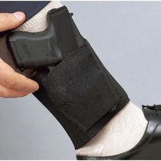 Ankle carry is risky, but this DeSantis Apache Concealed Carry Holster looks ideal for those that choose that mode of carry Concealed Carry Handbags, Concealed Carry Holsters, Gun Holster, Vanellope Von Schweetz, Hunting Rifles, Guns And Ammo, Weapons Guns, Revolver, Concealed Carry