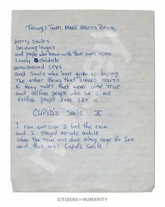 tupac shakur poems love Read These Previously Unreleased Handwritten Poems by a 17 Year 2pac Poems, Tupac Quotes, Best Lyrics Quotes, Old Quotes, Happy 18th Birthday Son, Birthday Wishes For Daughter, People Who Lie, Selfish People, True Love Quotes