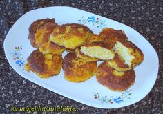 W Mojej Kuchni Lubię..: jajeczne kotlety z porem i serem...