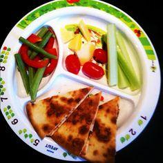 Easy Toddler Food: Quesadillas