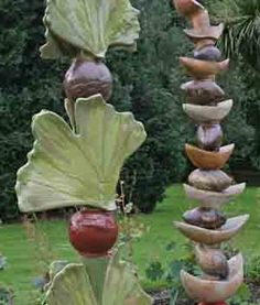 ceramic garden sculptures - Google Search
