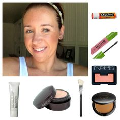 A makeup artist everyday routine  5 minute face  Kacee Geoffroy Makeup Designs