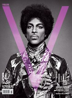 Prince - V Mag cover. Photo by Inez and Vinoodh