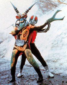 カミキリキッドと仮面ライダー Kamen Rider