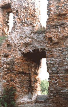 Die Burg von Ragnit - Ostpreussen