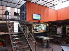 Container City, a Columbian food court