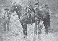 Brevet Brigadier General William Harvey Gibson-  Gibson was the 49th Ohio Infantry's commanding officer throughout the U.S. Civil War. They fought in 42 major battles. Gibson had 3 horses shot from under him at the Battle of Shiloh.
