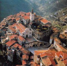 Apricale in Liguria region, Province of imperia ,