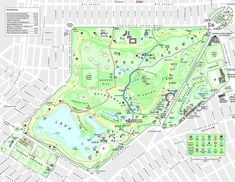 Map of Calvert and Vauxs Prospect Park in Brooklyn Maps