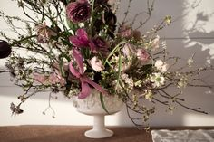 A co-hosted Spring dinner with the Wythe Hotel. All flowers arranged in vases by Frances Palmer.