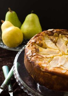 pear almond cake by simply gluten free. so easy and always a hit, even with your gluten eating friends. #glutenfree