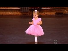 """Happy Friday! Here is the cutest distraction we have seen all week.  """"2 Year Old Ballerina Crashes Mommy's Audition and Steals the Show!"""" - YouTube"""