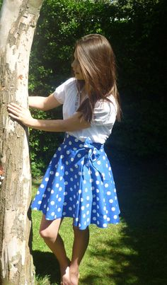 Catherine Wrap Skirt for Tween and Teenage girls by SewMissFickle, £48.00