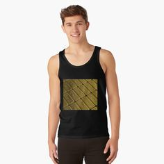 Promote | Redbubble Tank Man, Luxury, Mens Tops, Gold, Fashion, Moda, Fashion Styles, Fashion Illustrations, Yellow