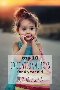 We gathered here 10 awesome toys educational toys for 4-year-olds that will help little preschoolers learn many different skills and keep their interest.