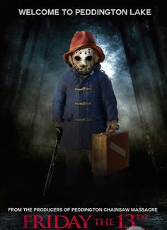 Whether you like it or not, Paddington Bear is being made into a CGI blockbustermovie and will be released later this year. In honor of the movie's upcoming release, a new (and quite awesome) Tumblr account has documented Paddington Bear in allthe creepiness we knew was always in him!